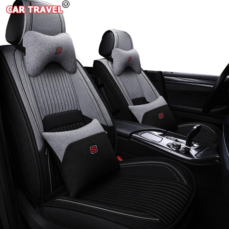 Fundas universales de asiento de coche para honda freed fiat tipo hyundai ioniq suzuki vitara ford kuga 2 3 Peugeot, seat