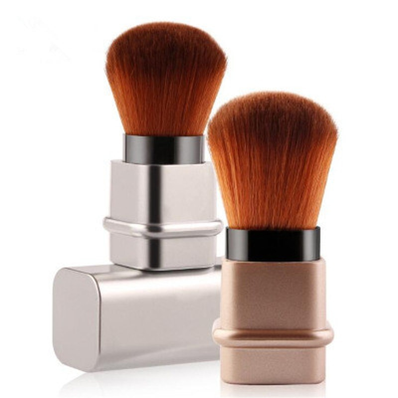 Retractable Makeup Brushes Powder Foundation Blending Blush Face Brush Cosmetics Face Make Up Brush
