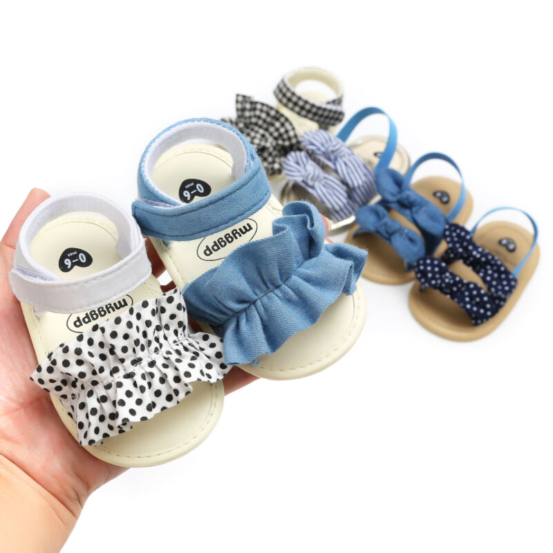 Sandalias de bebé 0-18M bebé recién nacido chico niño fiesta princesa Multi-estilo de Sandalias Zapatos de playa de verano