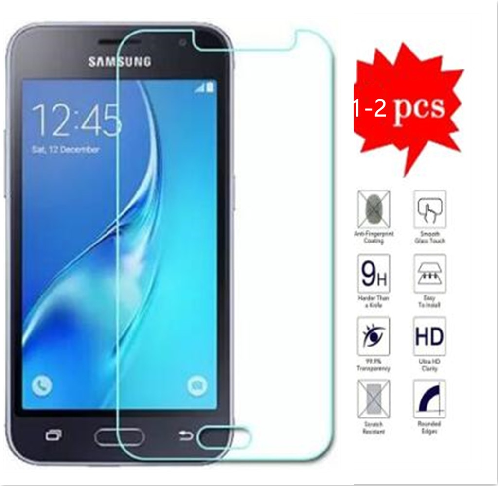 For Samsung Galaxy J1 2016 Tempered Glass Front 9H Protective Film Screen Protector For J120F SM-J120f J120M J120 J16 Guard