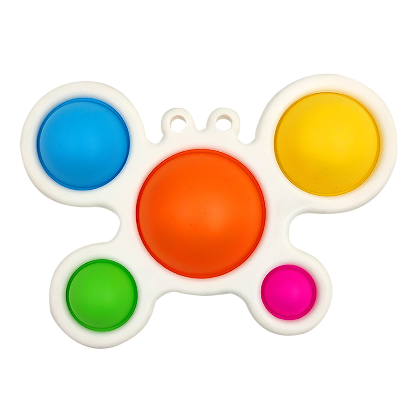 Simple Dimple Fidget Toy Stress Relief Hand Toy Kids Adults Soft Silicone Cute Crab Intellectual intensive training Baby Toys W* enlarge