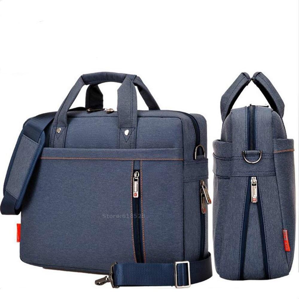 Shockproof airbag waterproof Laptop bag 12 13 14 15 15.6 17 17.3 inch big size computer bags Case Messenger Shoulder bag