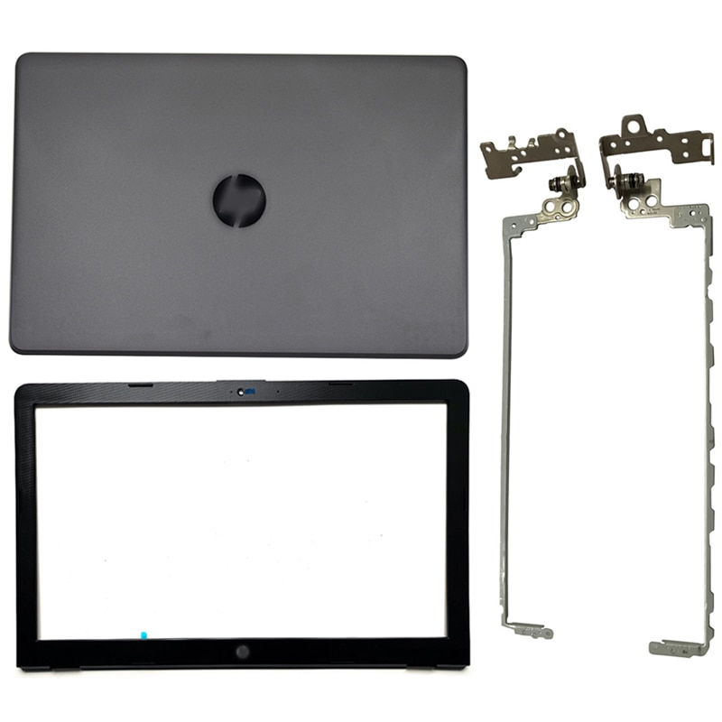 LCD Back Cover/Front Bezel/Hinges Cover For HP 15-BS 15T-BS 15-BW 15Z-BW 250 255 G6 924899-001 924893-001 924899-001 924900-001 new for hp 15 bs 15 br 15 bw 15t br 15 bs 15z bw laptop lcd back cover front bezel hinges palmrest bottom case 924899 001