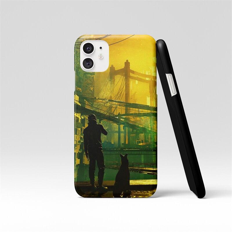 Coque souple antichoc en Silicone pour iPhone, compatible modèles 7, 6, 6S, 8 Plus, 11, 12 Pro, X, XR, XS Max, Style foncé, garçon