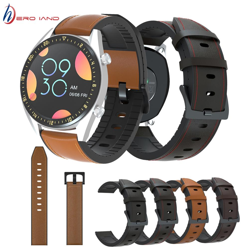 Replacement Genuine Leather Watch Band Strap For Huawei Watch GT 2 46mm 42mm /GT Smart Watch wristband strap belt 22mm 20mm недорого
