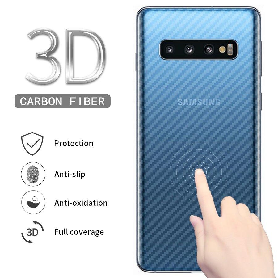 Защитная пленка для задней панели из углеродного волокна для Samsung Galaxy S20 Ultra Note 10 9 plus S10 Lite Plus A50 A51 A71 A70 5G