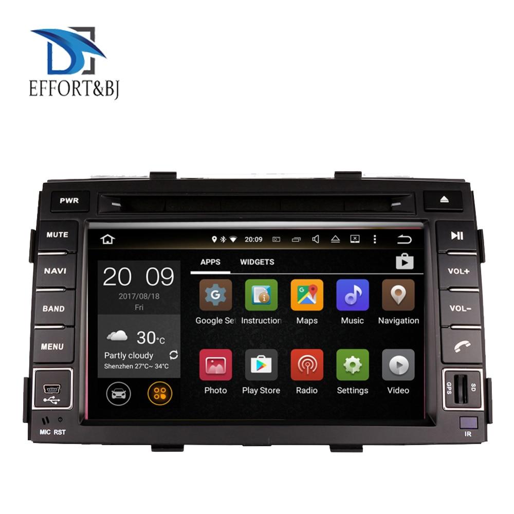 4G android 9.0 car dvd for kia sorento 2010-2012 in dash car stereo gps nagavition headunit Tape Recorder Car multimedia player