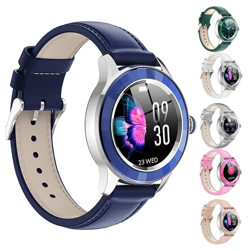 S09 Smart Horloge Waterdicht Hartslag Bloeddrukmeter Bluetooth Controle Vrouwen Horloge Voor Android Ios