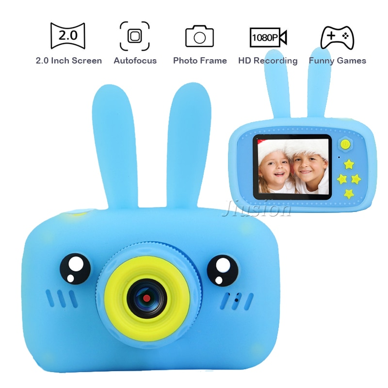 Minicámara de vídeo Digital para niños, cámara de Fotos Infantil de 1080P,...