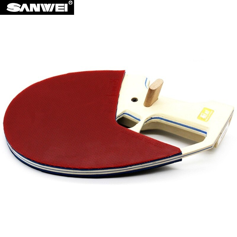 Aprobado por ITTF, SANWEI 9. ª generación, raqueta de tenis de mesa de pistola Ready/raqueta de Ping Pong/raqueta de tenis de mesa