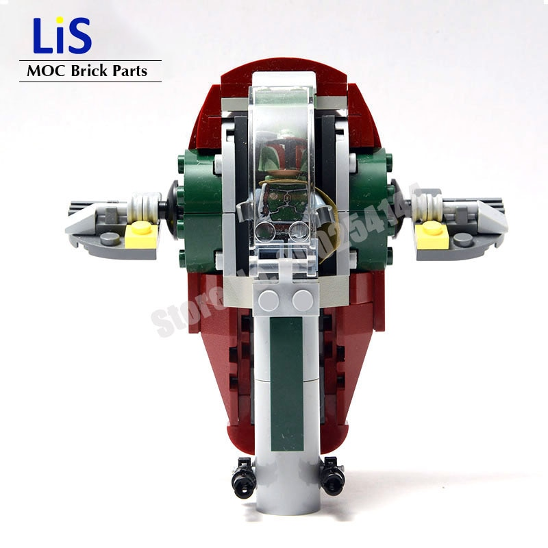 NEW Star Wars Mini Slave One I Microfighter MOC Building Block Bricks DIY Toys Model MOC-20373 Children Kids Gifts