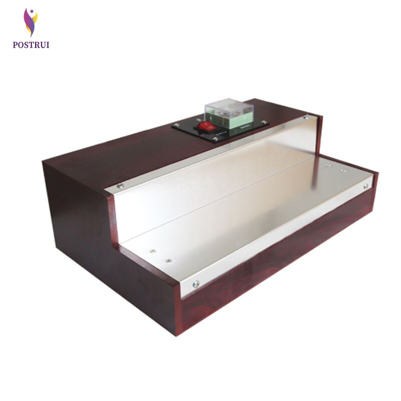 Máquina de embalaje termoretráctil para caja de Perfume, cigarrillos, cosméticos, caja de póker, máquina de embalaje de película Blíster