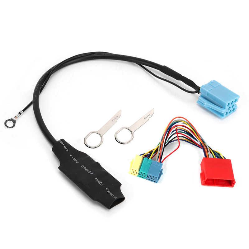 Адаптер для автомагнитолы, 20/8 контактов, Bluetooth 5,0, подходит для A2 A3 8L 8P TT