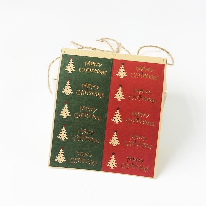 100 шт/Лот Рождественская елка красный и зеленый