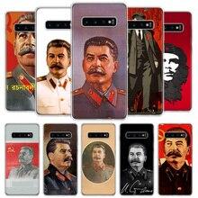 Russe Staline Urss Téléphone étui pour samsung Galaxy A50 A70 A10 A20E A51 A71 M30S A30 A40 A01A21 A6 A7 A8 A9 Plus + Coque