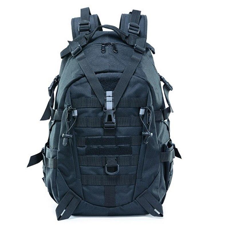 الرجال تسلق تسلق السفر حقيبة التخييم في الهواء الطلق التمويه الصيد العسكرية على ظهره سعة كبيرة العسكرية حقيبة متعددة الاستخدامات