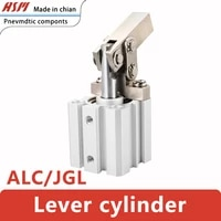 the lever clamping cylinder jglalc 253240 presses down pneumatic die of rocker arm