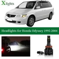 xlights car bulb for honda odyssey 1995 1996 1997 1998 1999 2000 2001 2002 2003 2004 led headlight low high beam auto light lamp