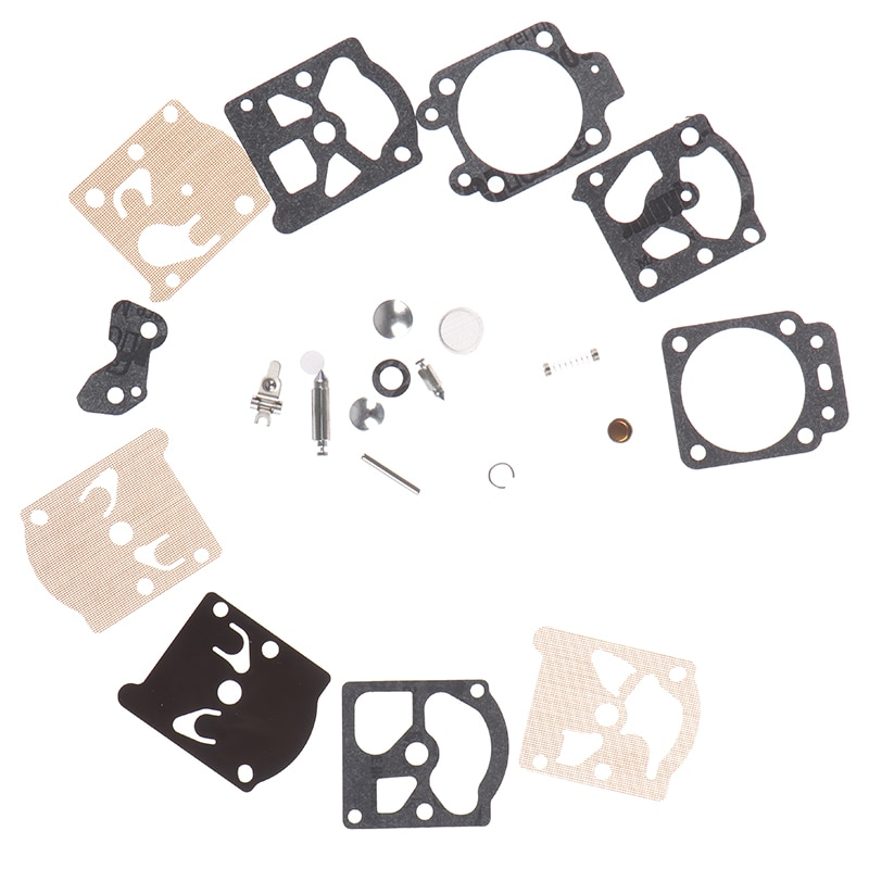 1 definir Nova chegada Agulha Kit de Reparo Para Walbro Carb Carburador Diafragma Junta Série K20-WAT Motosserra Echo