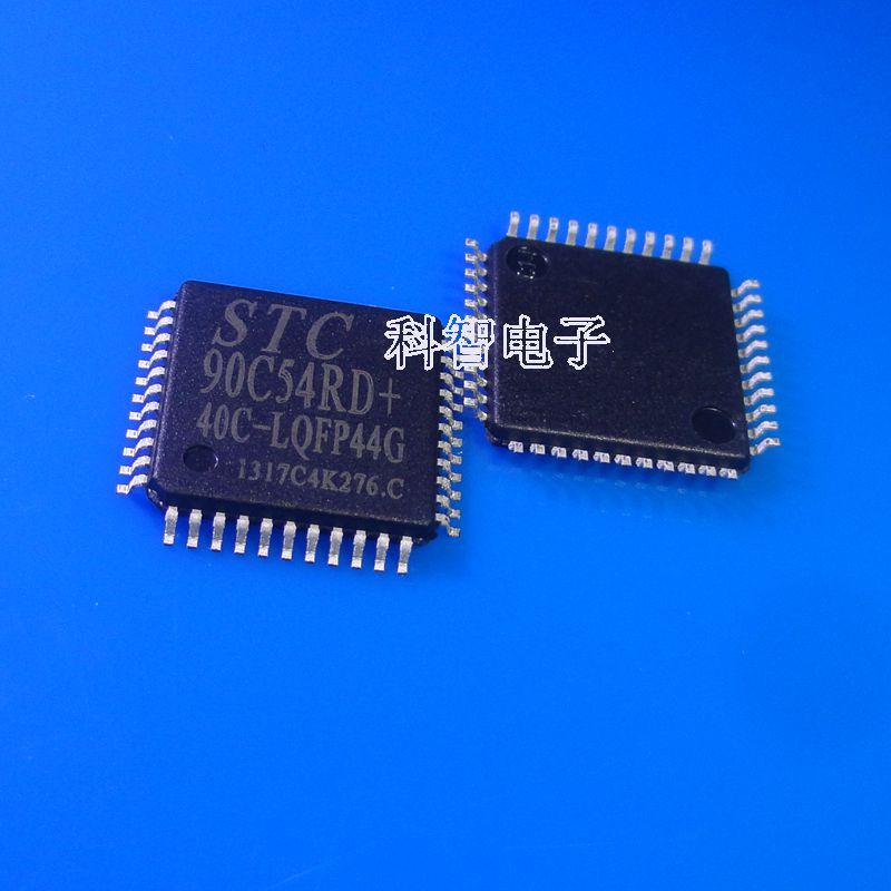 100% novo & original stc90c54rd + 40c-lqfp44 90c54rd + stc