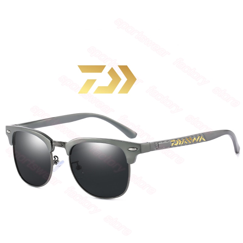 Поляризованные солнцезащитные очки Daiwa 2020 мужские солнцезащитные очки для вождения затенение мужские солнцезащитные очки для кемпинга пеш...