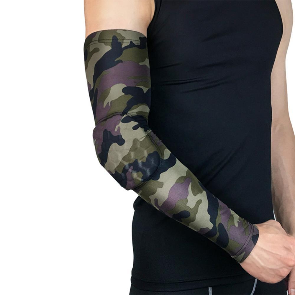 Banda para el codo de baloncesto, cinta de acondicionamiento físico transpirable anticolisión, rodillos de ciclismo al aire libre para fútbol, vendaje de protección en el codo