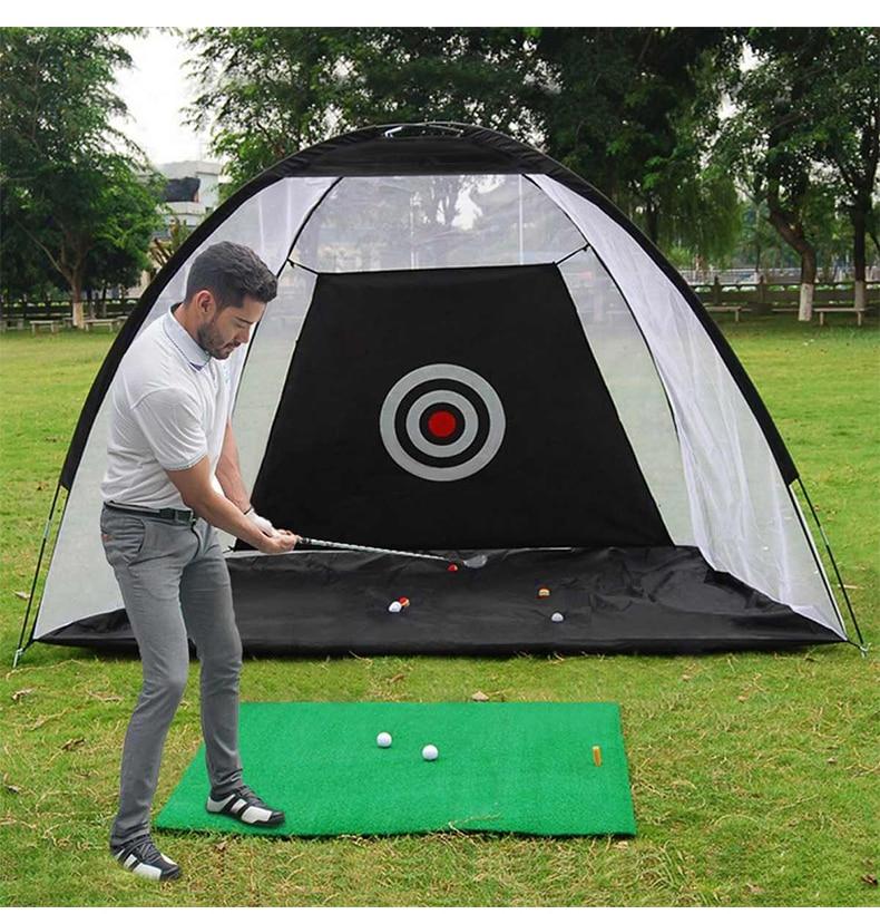 شبكة ممارسة الجولف الداخلية بطول 2 متر ، قفص ضرب الجولف ، خيمة ممارسة للحديقة ، مرج ، معدات تدريب الجولف ، شبكة خارجية ، XA147A