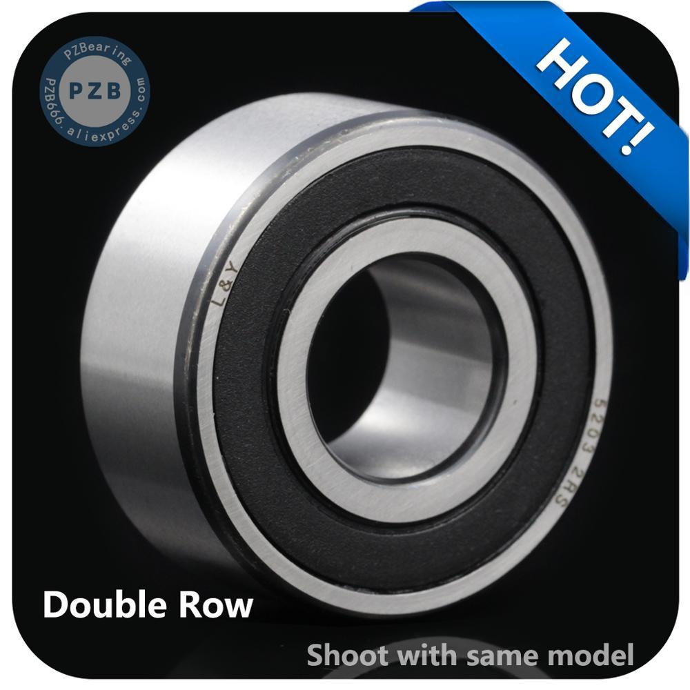 1 قطعة عالية السرعة 5209-2RS 3209-2RS حجم 45*85*30.2 مللي متر صف مزدوج الزاوي الاتصال اضعا الكرة