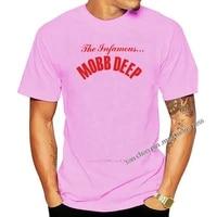 mobb deep mens infamous t shirt black summer short sleeves cotton t shirts 2021 new fashion t shirt men cotton