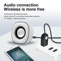 5 0 bluetooth audio receiver transmitter microphone bluetooth aux usb 3 5mm jack for tv pc headphone car kit wireless adapter