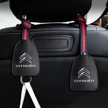 Крючок вешалка на подголовник автомобильного сиденья для Citroen C1 C2 C3 C4 C5 C6 C8 C4L C ELYSEE DS3 DS4 DS5 DS6 DS5LS аксессуары для автостайлинга