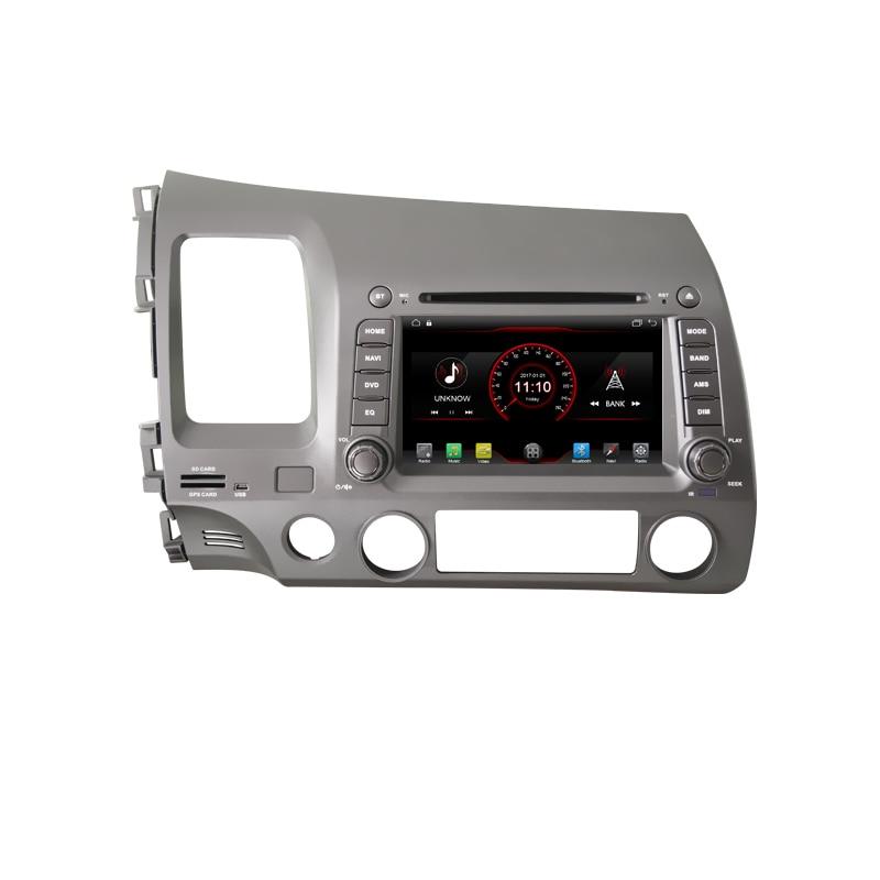 2 din Android 10 reproductor de DVD del coche GPS sistema de navegación para Honda Civic 8 2005, 2006, 2007, 2008, 2009, 2010, 2011 radio Estéreo wifi
