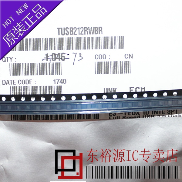شحن مجاني TUSB212RWBR TUSB212RWB 10 قطعة
