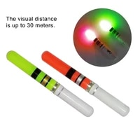 10pcspack night fishing outdoor easy install led glowing light stick accessories luminous bright visual assistant float tail