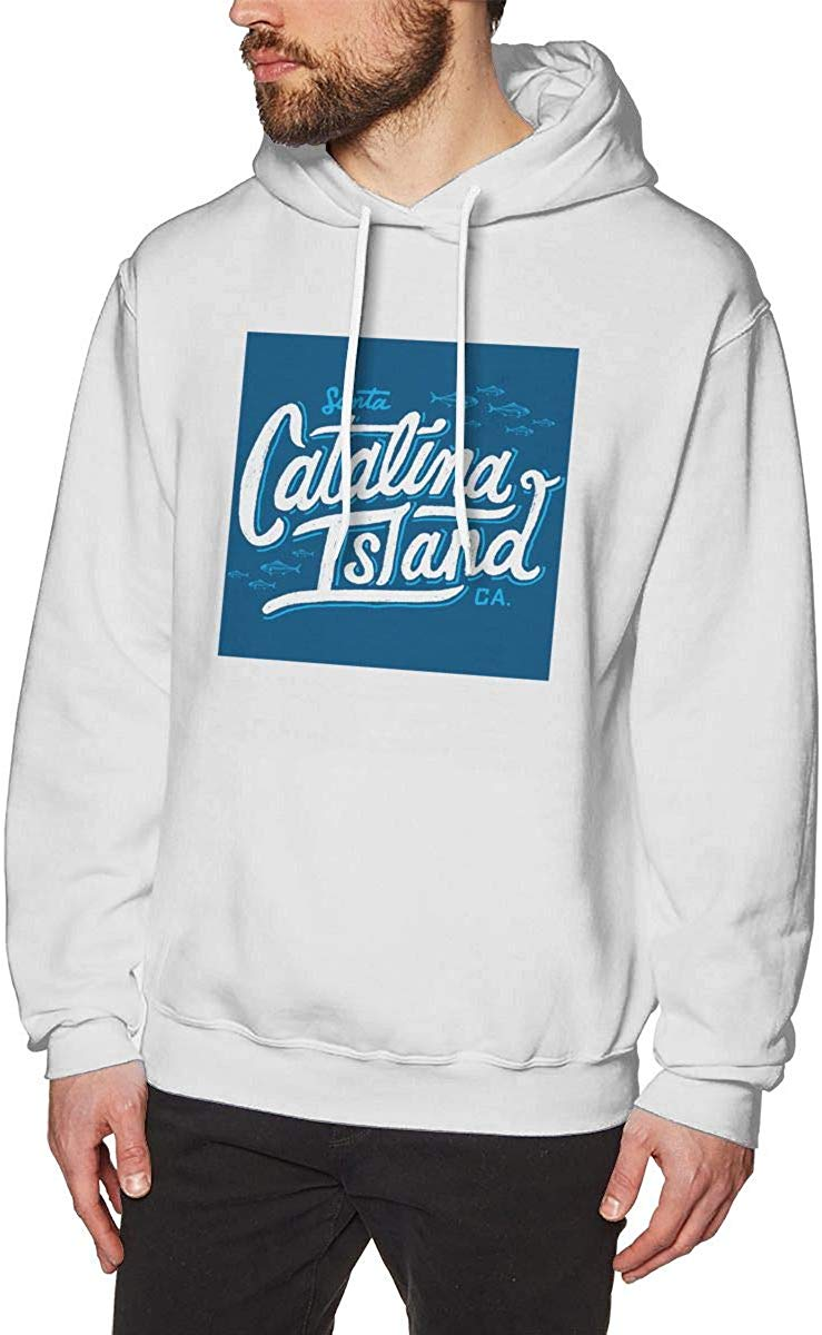 Isla de Santa Catalina, Sudadera con capucha para hombres tema moda Sudadera con capucha hombres mujeres Sudadera con capucha