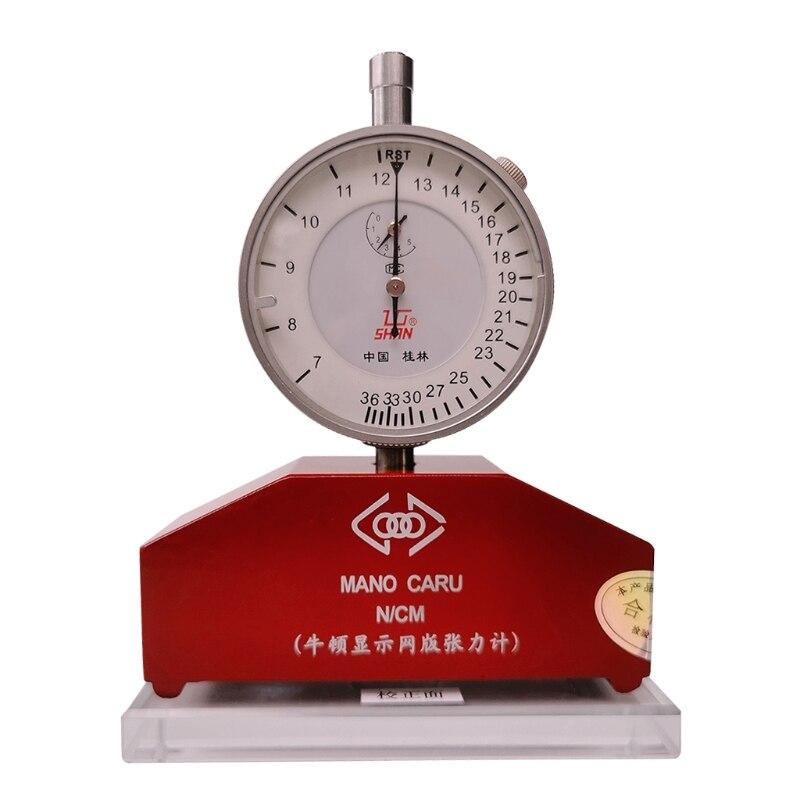 7-36N عالية الدقة الحرير طباعة الشاشة الحريرية التوتر متر مقياس التوتر أداة القياس في الحرير طباعة مقياس التوتر
