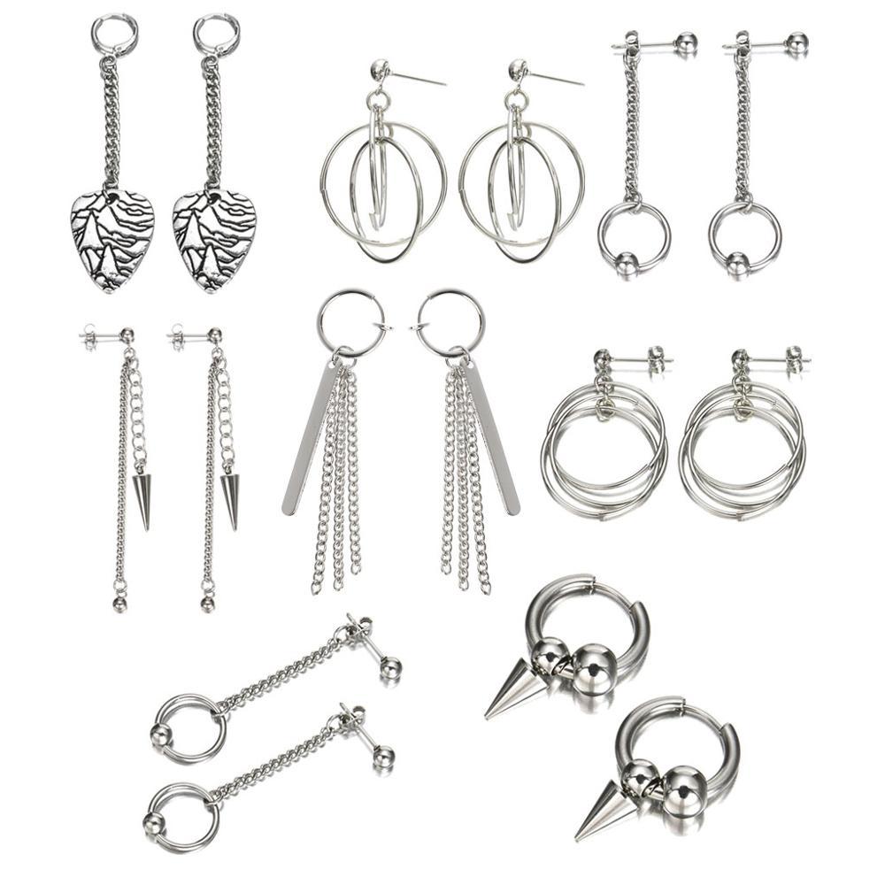 Korean Idols Earrings Bangtan Boys Tassel Long Chain Earrings Fashion Jewelry