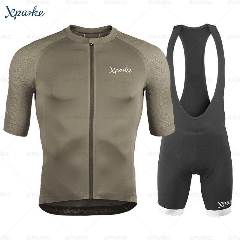 Conjunto de Jersey para Ciclismo de triatlón 2020, equipo de Ciclismo profesional, pantalones cortos con pechera para Ciclismo de montaña
