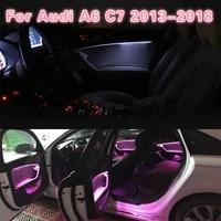 interior atmosphere light for audi a6 c7 2013 2018 led ambient light door footwell light original mmi control