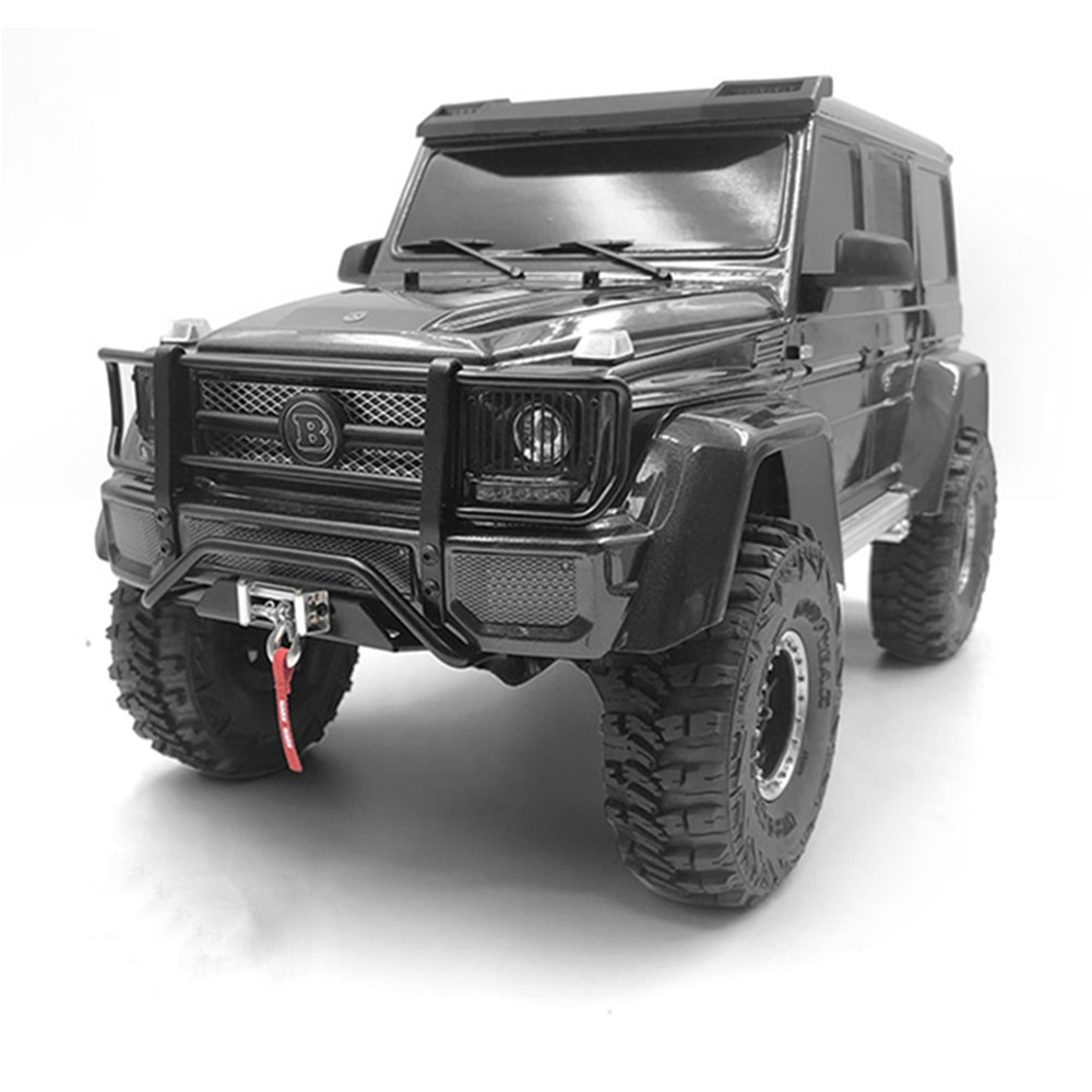 Stainless Steel Bottom Bumper Rc Crawler Accessories For Rc Car 1:10 Traxxass Trx4 4X4 Trx6 Remote Control Toys G500 G63 Parts enlarge