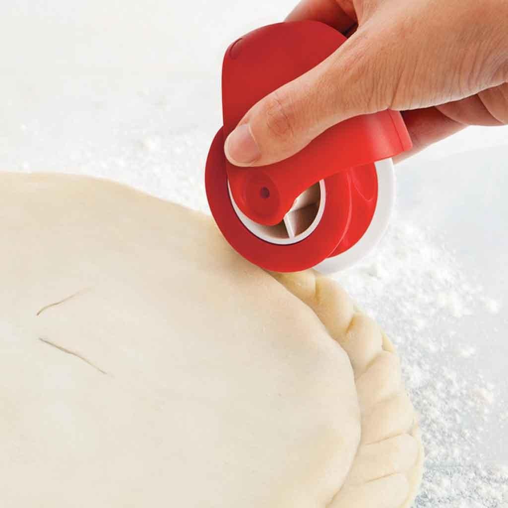 Нож в клетку для пиццы, нож для Украшения Пирога, нож для выпечки, инструмент для пиццы, кожи, пластиковый ролик, Конопляный кружевной нож для резки теста