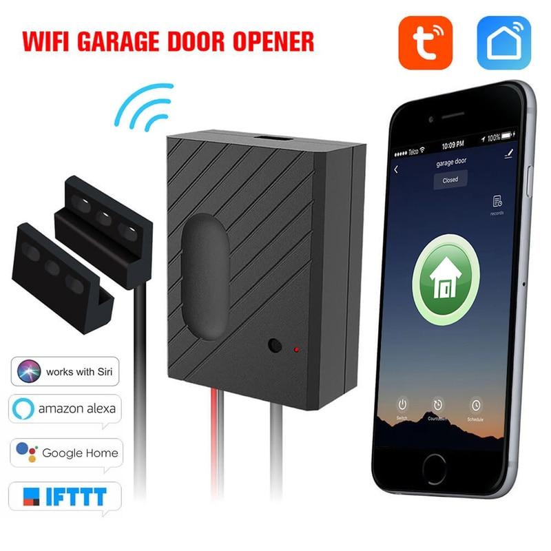 Smart Home Wifi Smart Garage Tür Schalter Drahtlose Fernbedienung Garage Tür Schalter Anzug für Amazon Alexa Google Hause