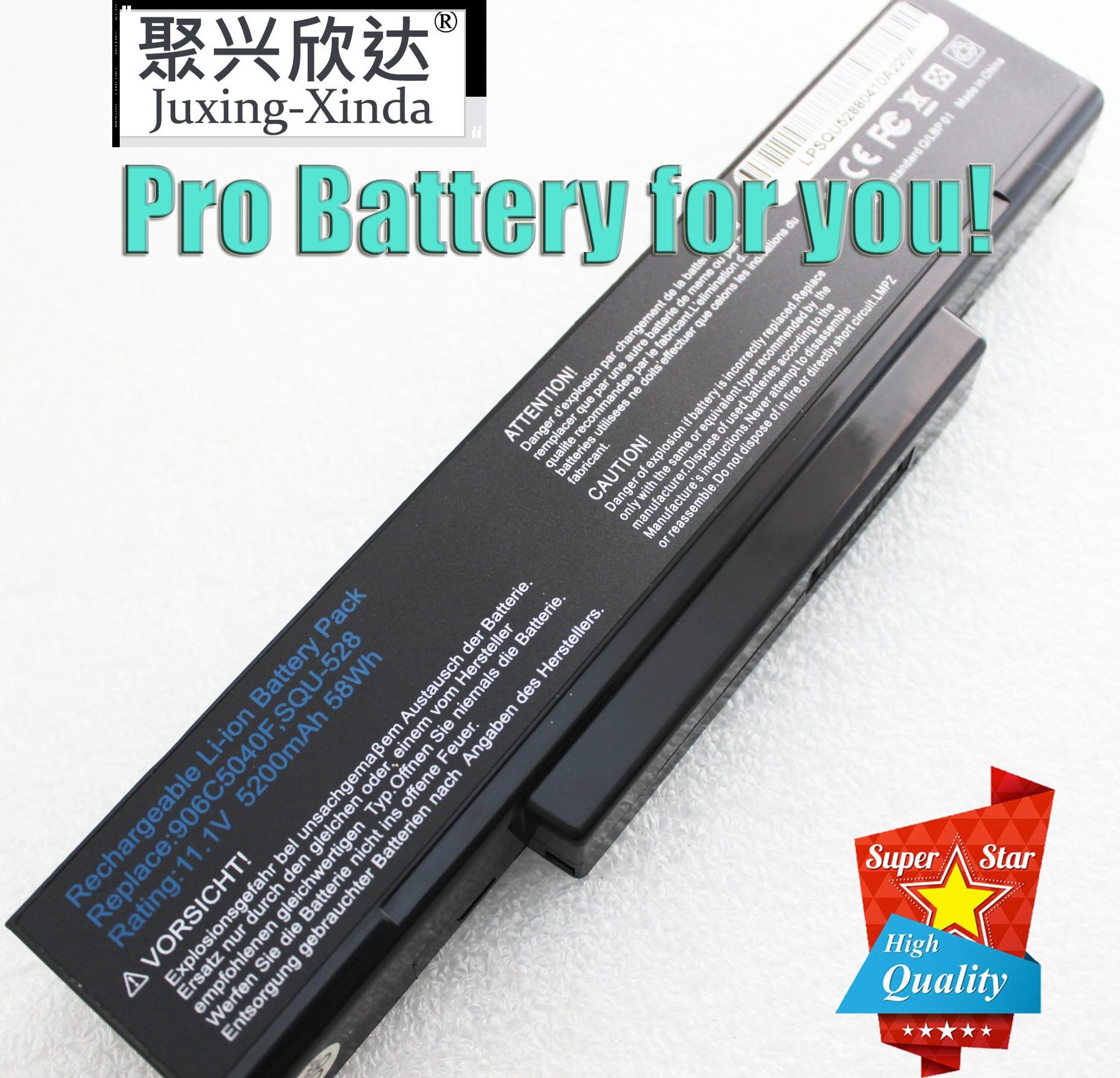 5200MAH Bateria do portátil Para MSI SQU-528 M655 M660 M662 M670 M677 CR400 PR600 PR620 GX400 GX600 GX610 GX620 BTY-M66 Z53 M51 Z94