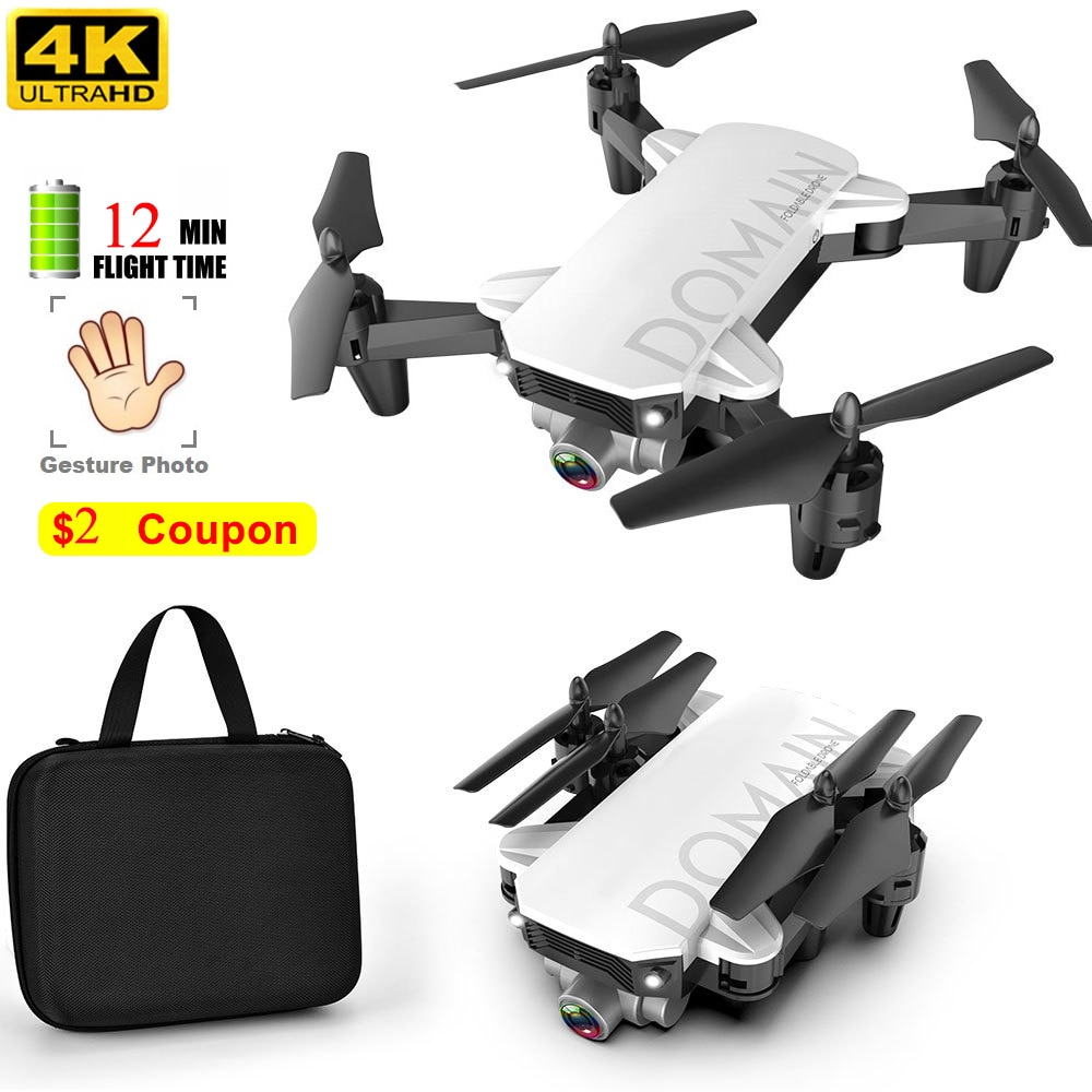 Dron profesional 4k 720P para niños, cuadricóptero con cámara Hd, Wifi, Selfie,...