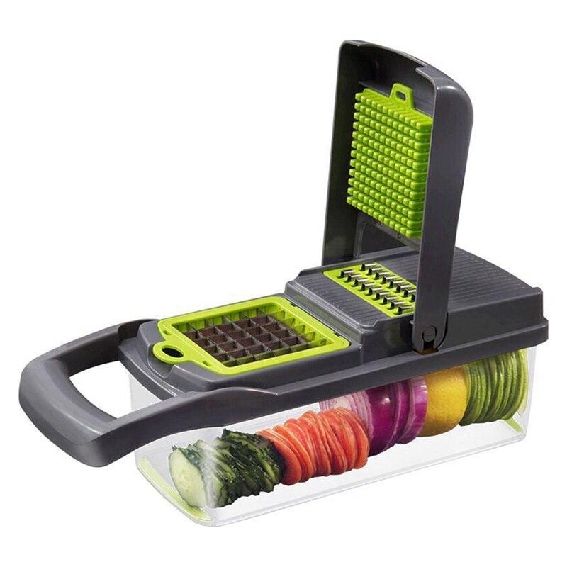Melão Frutas e Vegetais Descascador de Batatas Descascador de Aço inoxidável Da Cozinha do Agregado Familiar de Cortar Batata Shredder Shredder