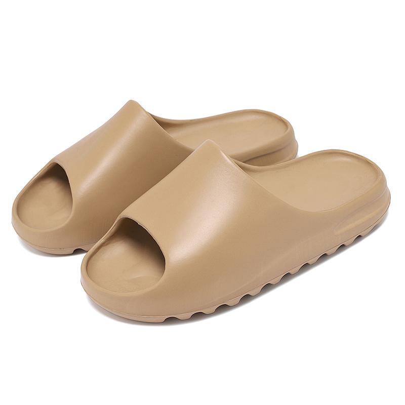 Women Bathroom Shoes Slides Anti-slip Summer Indoor Home Slippers Household Bath Sandals Men Solid Color slids