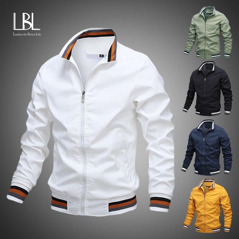 Мужская модная куртка и пальто, новая мужская ветровка, куртка-бомбер, осень 2020, Мужская армейская одежда-карго, Повседневная Уличная одежда