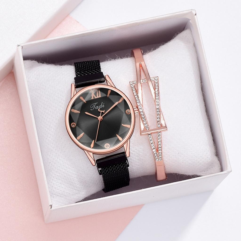 2021 Luxury Women Bracelet Quartz Watches For Magnetic Watch Ladies Sports Dress Wrist Clock Relogio Feminino