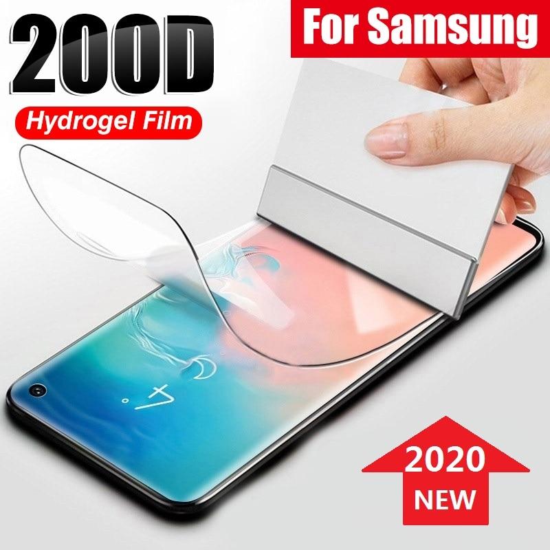 lamina de hidrogel protector pantalla Samsung S8 S9 S10 Plus S10e (no vidrio templado) protector Samsung S8 S9 S10 Plus S10e (no cristal templado )