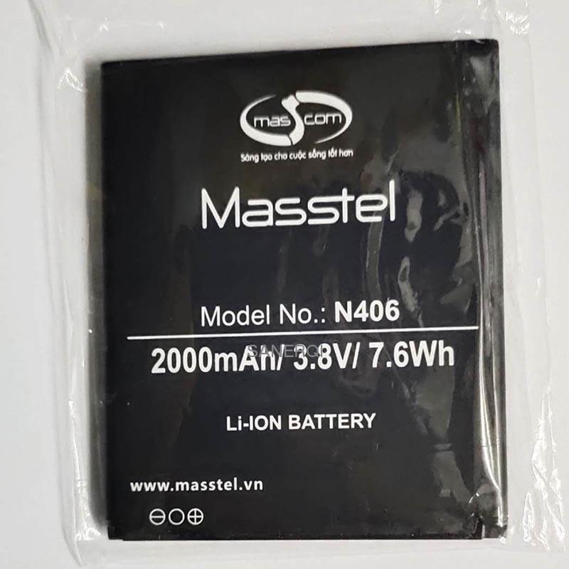 2000mAh 7.6Wh N406 Battery For MASSTEL N406 mobile phone external new Li-ion bateria Li-Polymer Batt